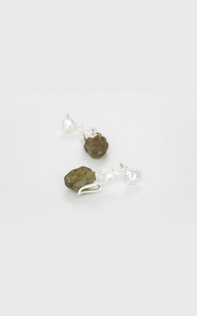 Temple Garden Demantoids Earrings