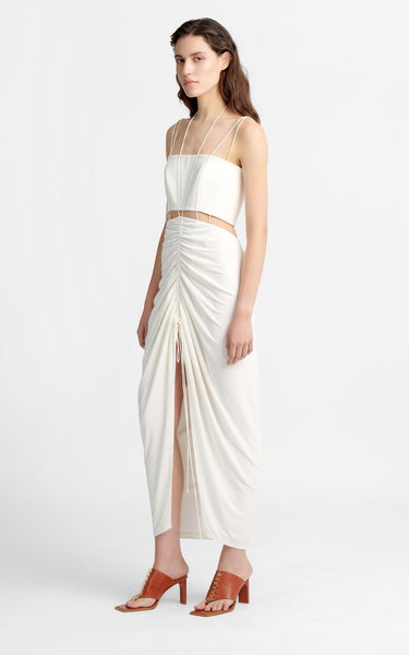 Rouleau Suspend Dress Ivory