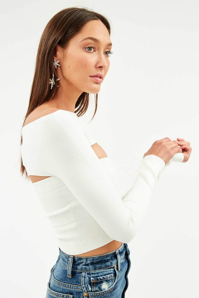 Two Piece Tube Top Ivory