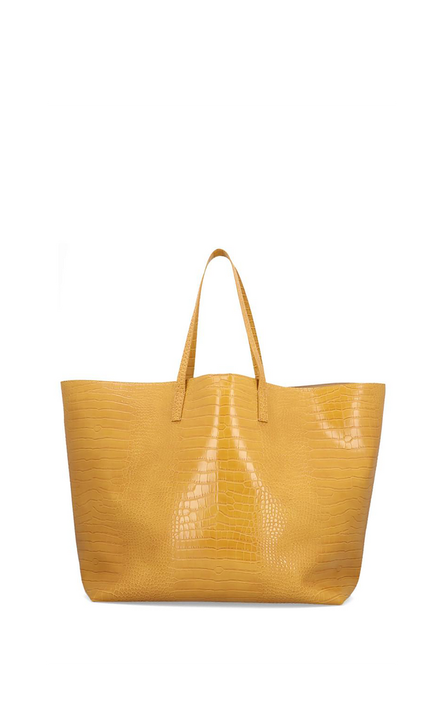 Sahaara tan oversized tote bag