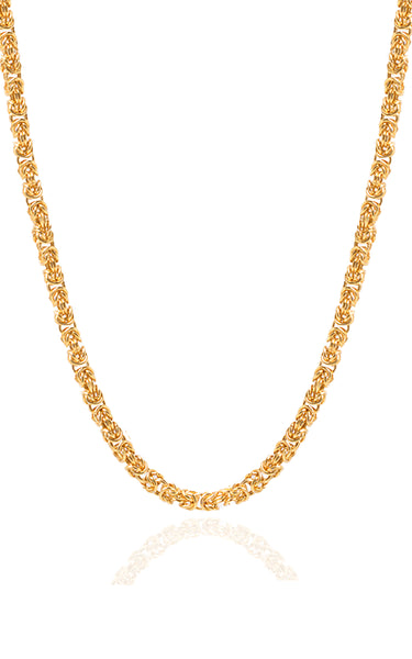 Theodora Woven Chain Gold Plated