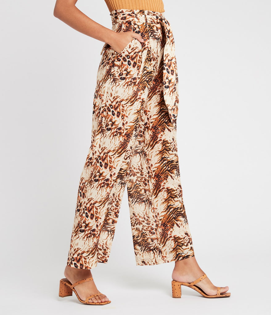 Nanushka Maeva organic cotton wide-legged pants
