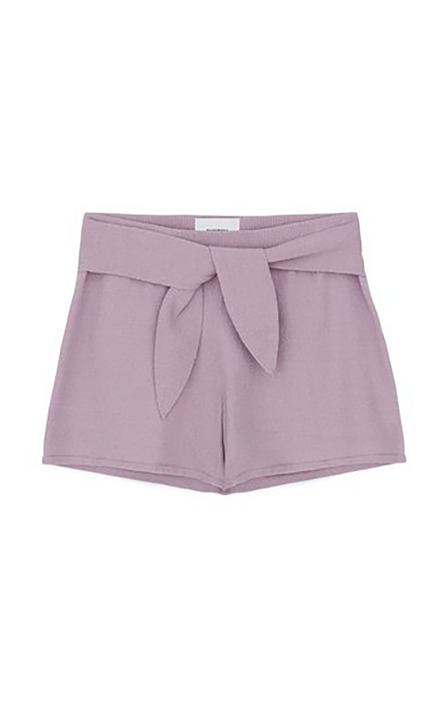 Jiji terry knit lilac shorts
