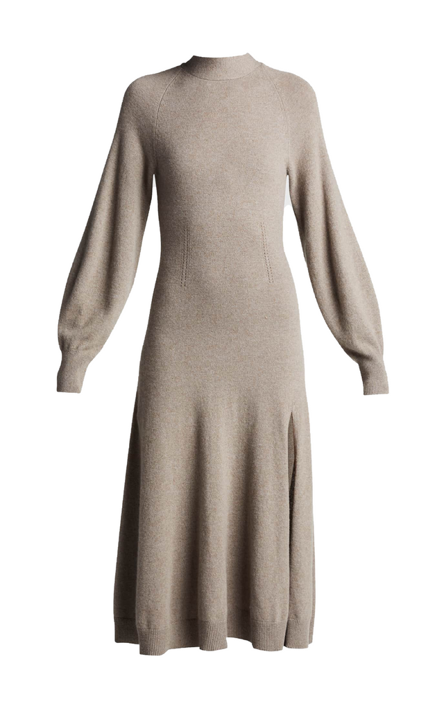 Brielle Cashmere Long-Sleeve Dress