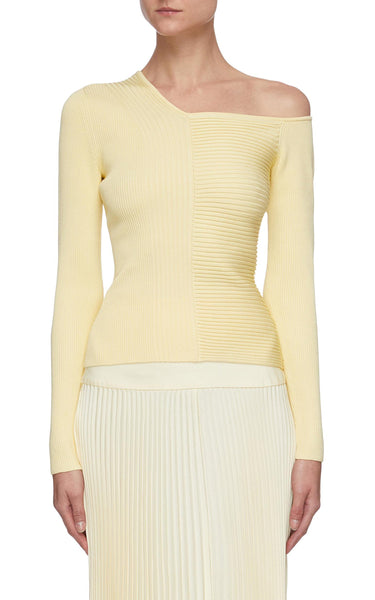 Charlie Panel Rib Knit Top