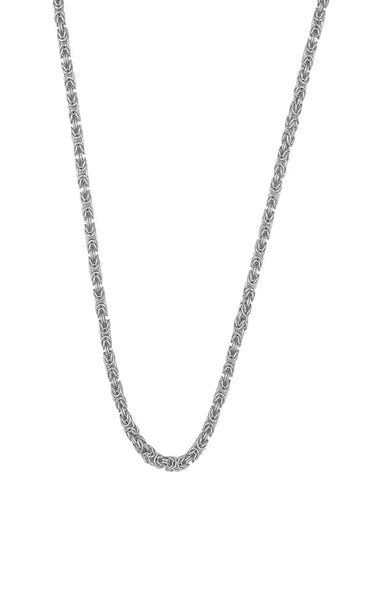 Theodora Woven Chain Sterling silver