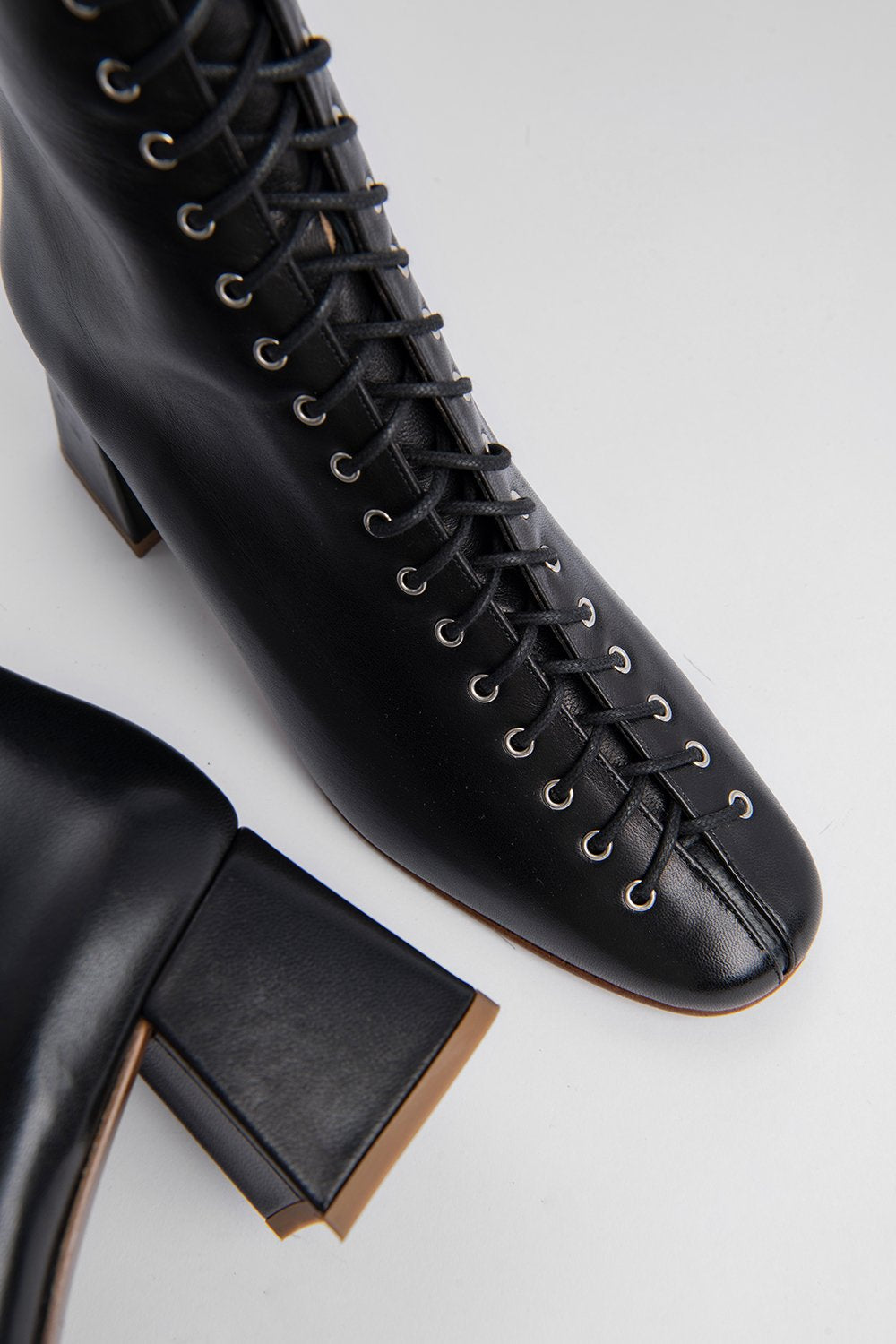 Becca Black Leather Boots