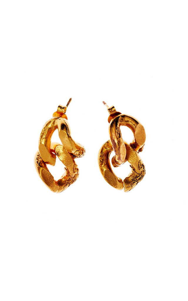 The Fractured Link Earrings