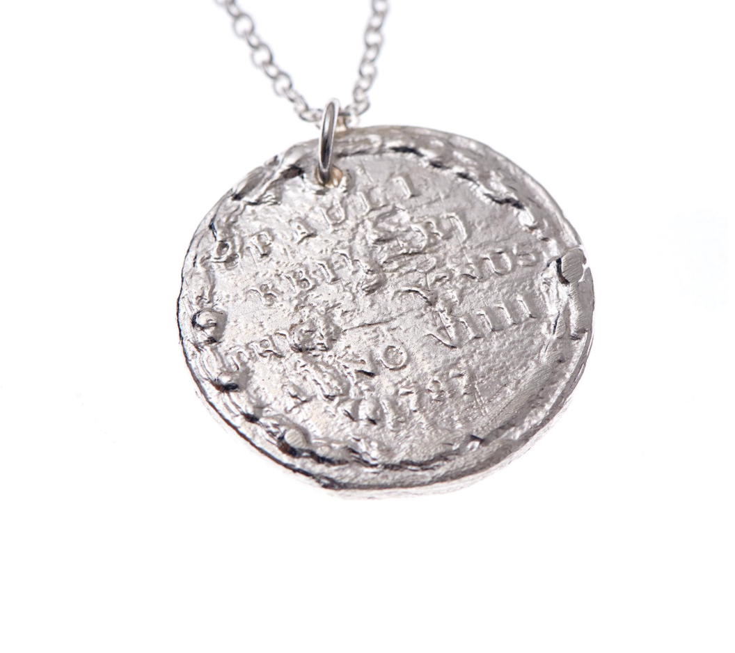 The Snow Lion Medallion Necklace