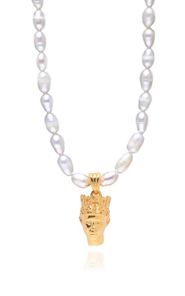 Tyche Pearl Necklace