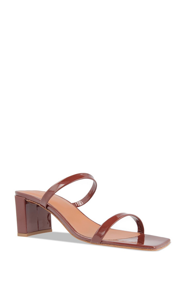 Tanya brown leather sandals