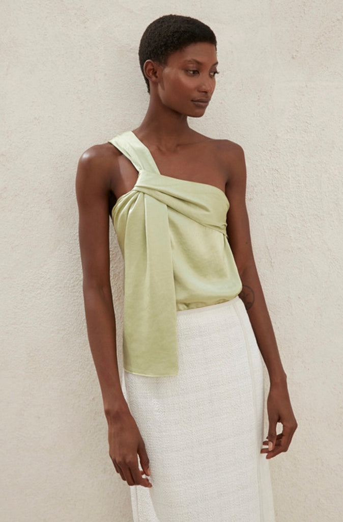 Manon Top Lime