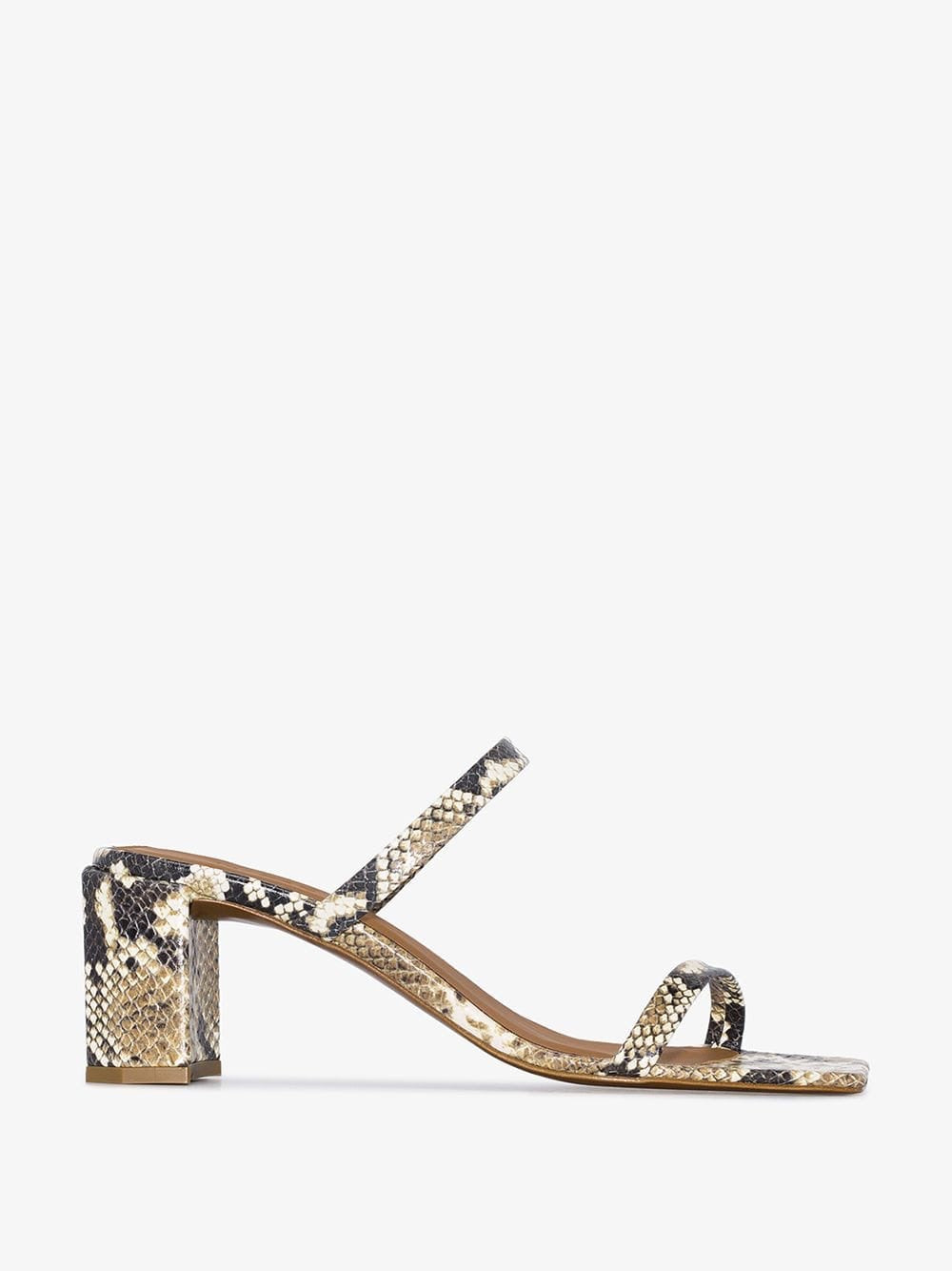BY FAR Tanya Sandals in Python