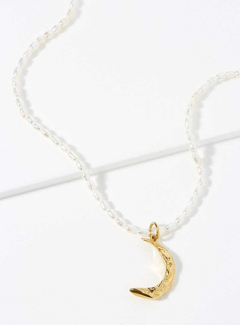 Melies Moon Pearl Necklace