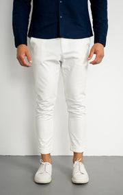 White Slim fit Chinos