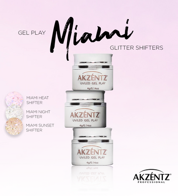 Gel Play Miami Glitter Shifter Sunset