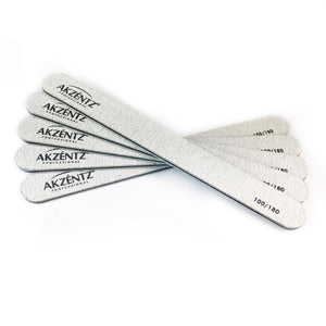 Akzentz Zebra Files 100/180 Pack of 50