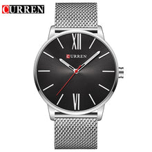 Load image into Gallery viewer, CURREN Luxury Brand Quartz