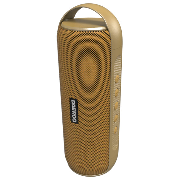 Portable Bluetooth Speakers Daewoo DBT-20 12W Golden