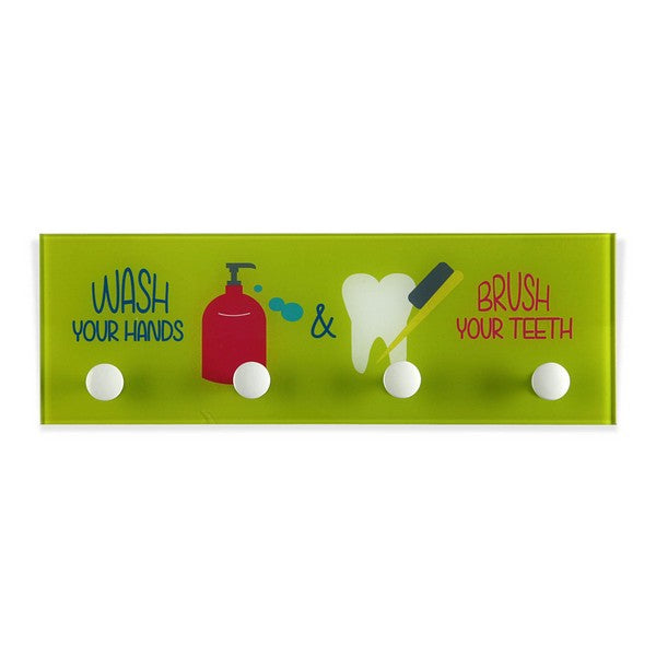 Coat rack Wash & Brush Crystal Pop (3 x 12 x 36 cm)