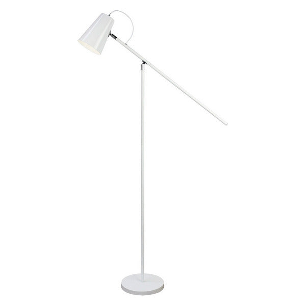 Floor Lamp Metal (25 x 155,5 x 75,5 cm) White
