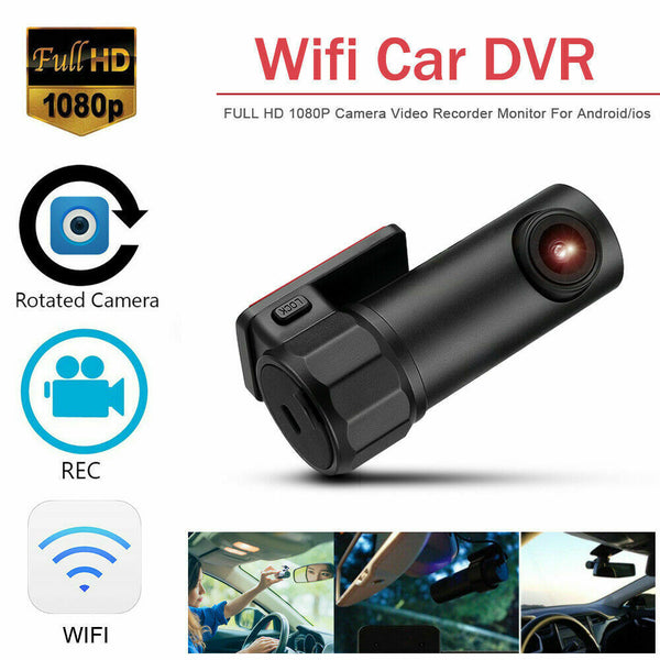 1080P HD Car DVR Dash Cam Video Recorder WIFI G-sensor Camera LCD Night Vision - poptopdeal