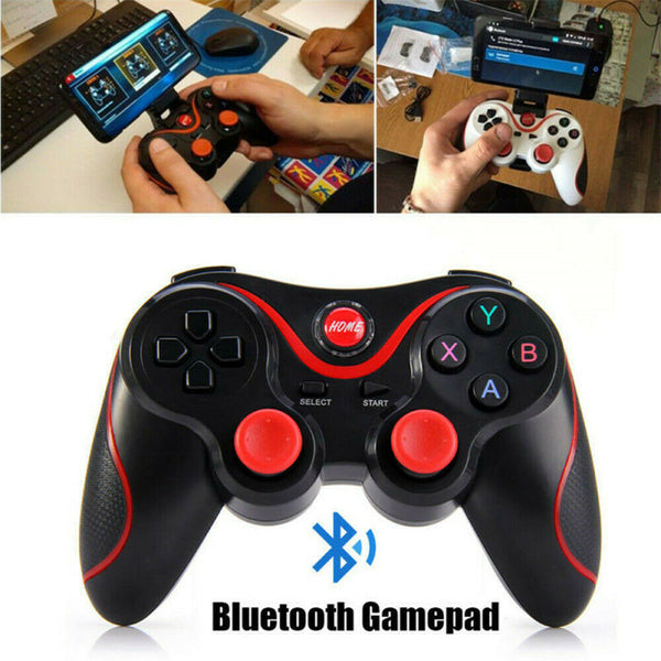 Wireless Bluetooth Gamepad Game Controller Remote For Android IOS Phone PC UK - poptopdeal