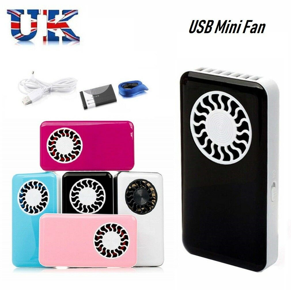 Portable Hand Held USB Mini Fan Air Conditioner Cooling Fan with battery - poptopdeal