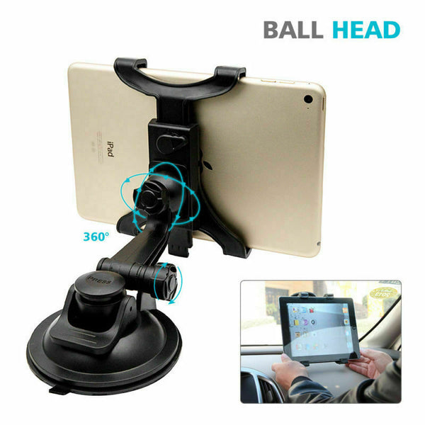 Universal In Car Tablet Holder Mount Windscreen Dashboard Suction iPad Samsung - poptopdeal
