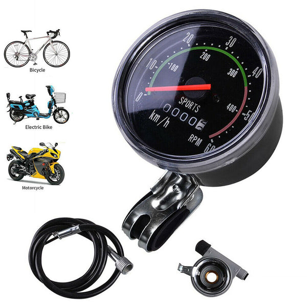 Universal Bike Bicycle Speedometer MTB Speedo Odometer Waterproof Cycling Sports - poptopdeal