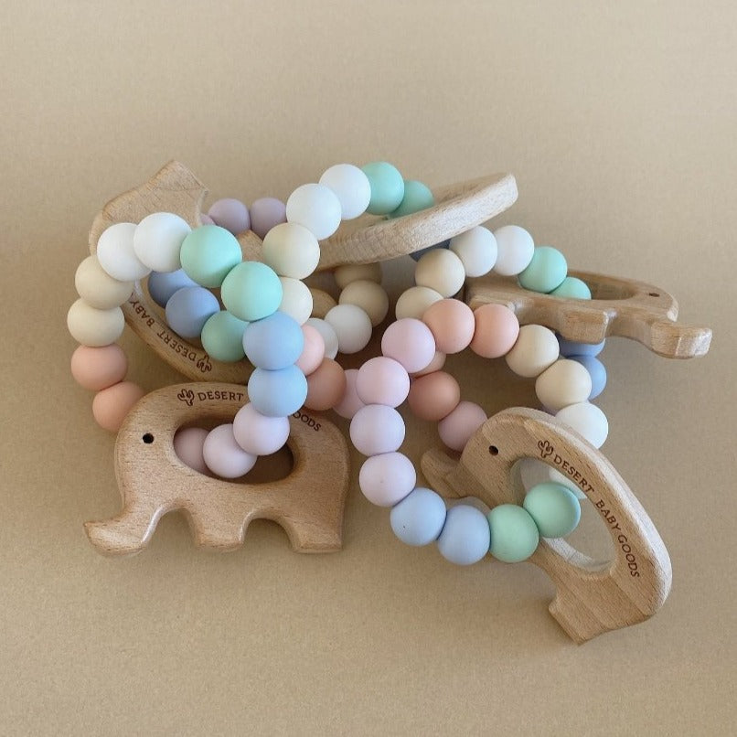 Baby Elephant Teether - Desert Baby Goods