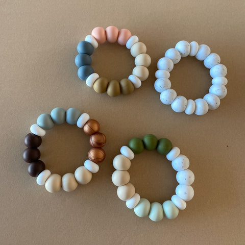 Silicone Ring Teether - Desert Baby Goods