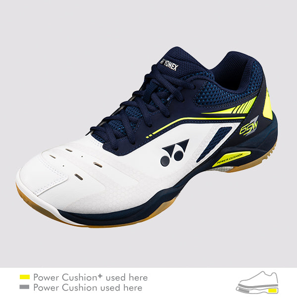 YONEX POWER CUSHION 65Z WIDE MEN'S BADMINTON SHOES - [Dark Navy]