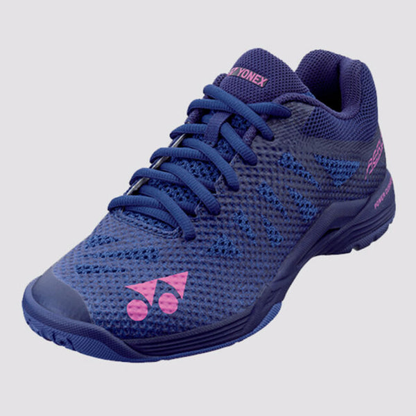 Yonex Aerus 3 LX Power Cushion Ladies Badminton Shoes - [NAVY BLUE]