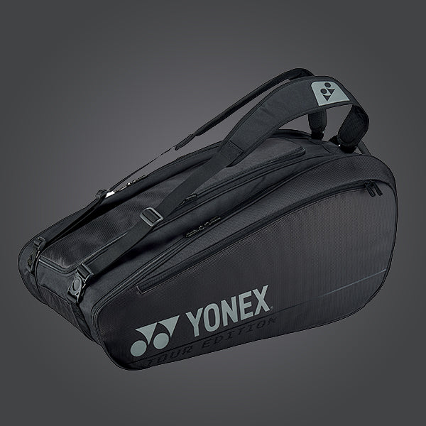 Yonex BAG92029 9 Piece Racket Badminton Bag [Black]
