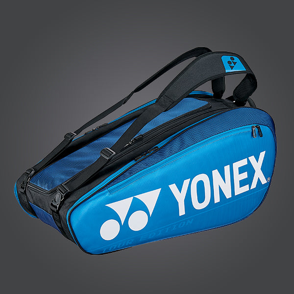 Yonex BAG92029 9 Piece Racket Badminton Bag [Deep Blue]