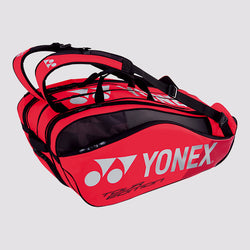 Yonex 9829EX 9 Piece Racket Badminton Bag [Flame Red]