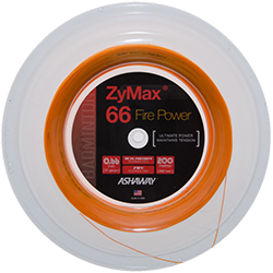 Ashaway Zymax 66 Fire Power 200m (Ultimate Power) - Badminton String Reel