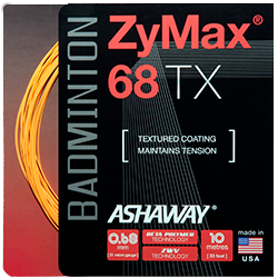 Ashaway Zymax 68 TX 0.68mm (Spin & Control with Power & Durability) - Badminton String