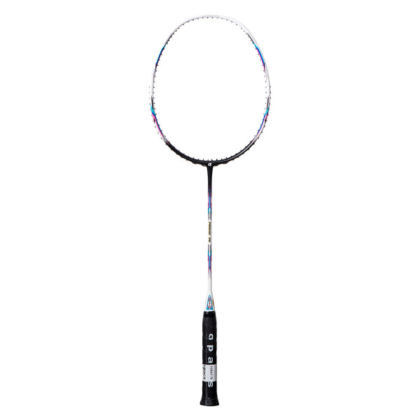 Foray 70 White Black (Strung) - Apacs Badminton Racket