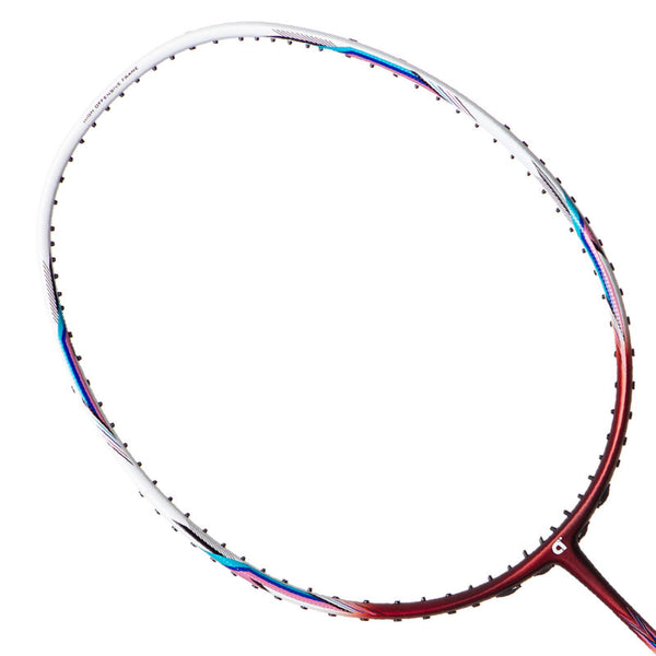 Foray 70 White Red (Strung) - Apacs Badminton Racket