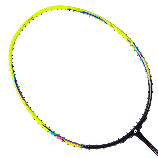 Foray 70 Yellow Black Matte (Strung) - Apacs Badminton Racket