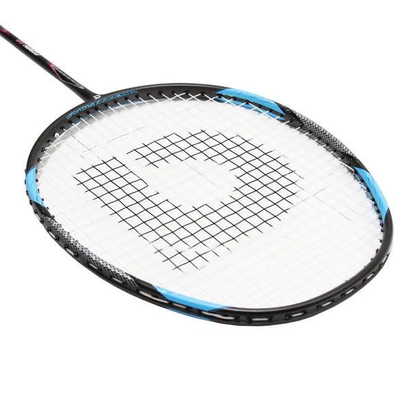 Foray 68 White Grey Blue (Strung) - Apacs Badminton Racket