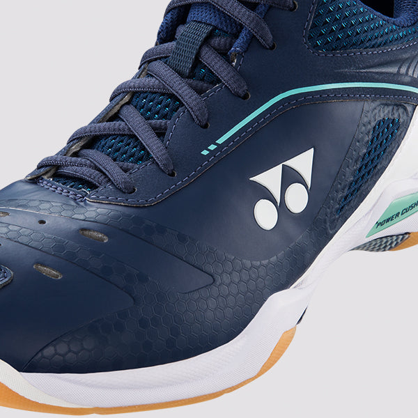 YONEX POWER CUSHION 65Z WIDE MEN'S BADMINTON SHOES - [Navy White]