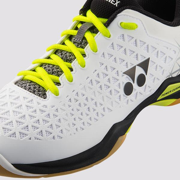 YONEX POWER CUSHION ECLIPSION X BADMINTON SHOES - [WHITE/BLACK]