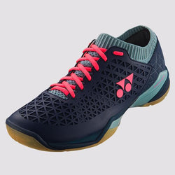 YONEX POWER CUSHION ECLIPSION Z WIDE MEN'S BADMINTON SHOES - [NAVY/ICE BLUE]