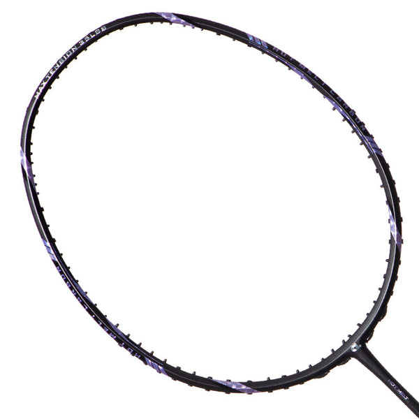 Sizzle 66 Dark Grey (Strung) - Apacs Badminton Racket