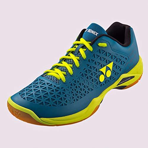 YONEX POWER CUSHION ECLIPSION X BADMINTON SHOES - [TURQUOISE/YELLOW]