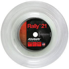 Ashaway Zymax Rally 21 Fire 0.70mm 200m (Superior Performance) - Badminton String Reel