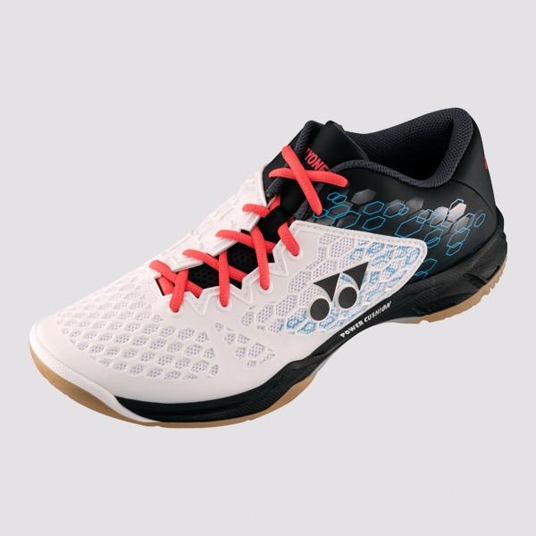 YONEX POWER CUSHION 03 BADMINTON SHOES - [WHITE/BLACK]